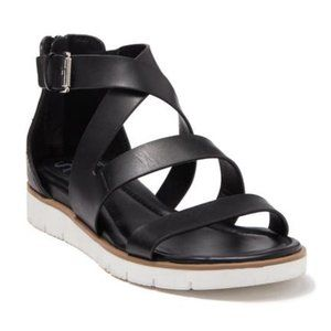 Sofft Starla Ankle Strap Leather Strappy Sandals